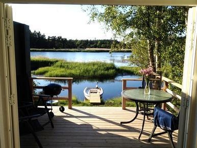Casa de vacaciones 1001321 para 3 adultos + 2 niños en Rockneby