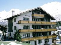 Appartement 1010960 voor 2 personen in Saas-Fee
