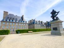 Appartement 1129190 voor 2 personen in Saint-Malo