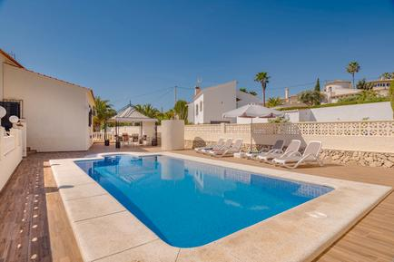 Holiday home 1195259 for 6 adults + 2 children in Calpe