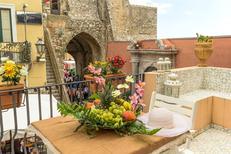 Appartement 1213441 voor 2 volwassenen + 2 kinderen in Taormina
