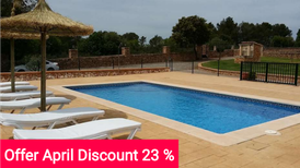 Holiday home 1227231 for 10 persons in Algaida