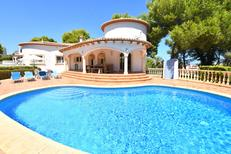 Holiday home 1240214 for 4 persons in Jávea