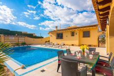 Holiday home 1263681 for 6 persons in Moraira