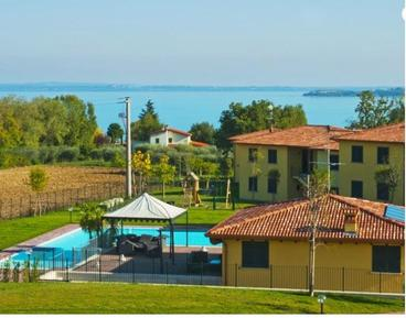 Holiday apartment 460872 for 2 adults + 4 children in Moniga del Garda