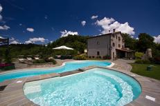 Holiday home 603018 for 13 adults + 2 children in Apecchio