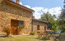 Gemütliches Ferienhaus : Region Monticiano für 4 Personen