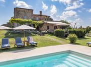 Gemütliches Ferienhaus : Region Asciano für 10 Personen
