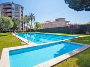 Gemütliches Ferienhaus : Region Calella für 5 Personen