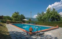 Gemütliches Ferienhaus : Region Camporgiano für 6 Personen