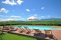 Für 5 Personen: Hübsches Apartment / Ferienwohnung in der Region Pienza