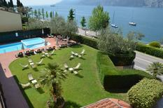 Studio 877678 for 3 adults + 1 child in Malcesine
