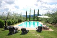 Gemütliches Ferienhaus : Region Cetona für 7 Personen