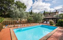 Gemütliches Ferienhaus : Region Greve in Chianti für 6 Personen