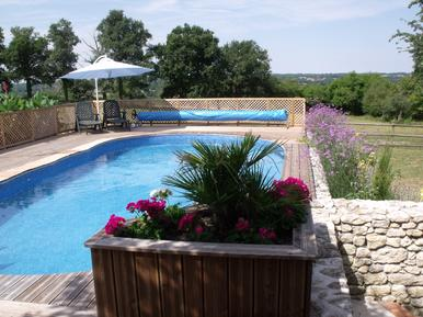 Holiday home 936750 for 12 persons in Saint-Germain-de-Confolens